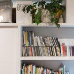 大きな本棚のあるマンションリフォーム